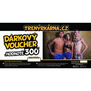 Trenýrkárna Elektronický voucher 300,- (zaslání pouze e-mailem) uni