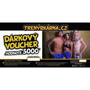 Trenýrkárna Elektronický voucher 5000,- (zaslání pouze e-mailem) uni