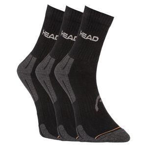 Head 3PACK ponožky HEAD černé (741020001 200) S