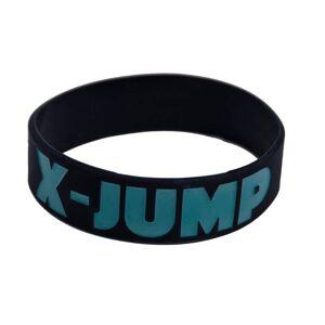 Trenýrkárna Gumový náramek X-jump černý uni
