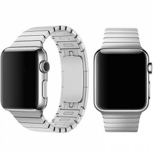 Devia Řemínek pro Apple Watch 42mm / 44mm - Devia, LinkBracelet Silver