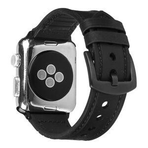 iPouzdro.cz Kožený pásek / řemínek pro Apple Watch 42mm / 44mm - Leather Band, Black