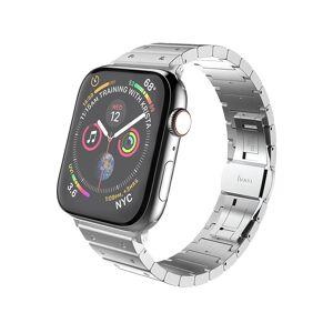 Hoco Kovový řemínek pro Apple Watch 42mm / 44mm - Hoco, WB07 Precious Silver