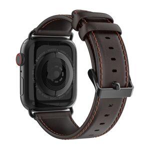 DuxDucis Kožený pásek / řemínek pro Apple Watch 38mm / 40mm - DuxDucis, Business Coffee
