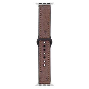 Devia Řemínek pro Apple Watch 42mm / 44mm - Devia, Ostrich Brown