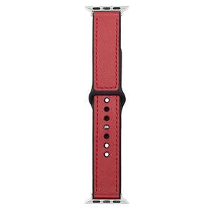 Devia Řemínek pro Apple Watch 42mm / 44mm - Devia, Ostrich Red