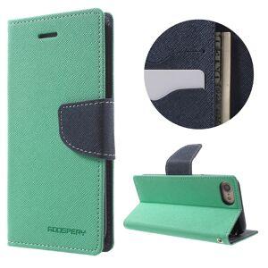 Mercury Pouzdro / kryt pro iPhone 7 / 8 - Mercury, Fancy Diary MINT/NAVY