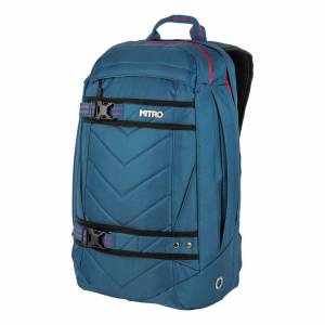 Nitro Batoh Nitro Aerial blue steel men blue steel 27L 50×30×19 cm