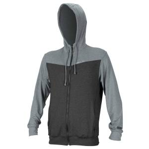 O'Neill Wake mikina O'Neill Hybrid Zip Hoodie graphite/cool grey men graphite/cool grey XL