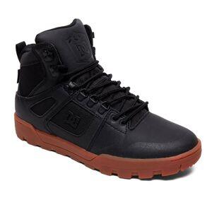 DC Zimní boty DC Pure High-Top WR black/gum men black/gum UK 8 (EUR 42)