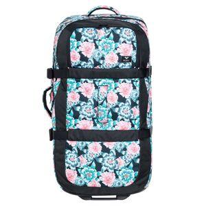 Roxy Cestovní taška Roxy Long Haul anthracite s crystal flower