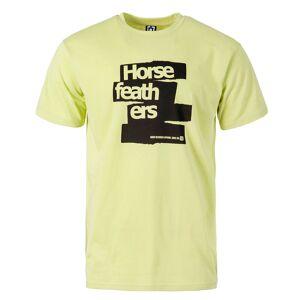 Horsefeathers Tričko Horsefeathers Brush lemon grass men lemon grass S