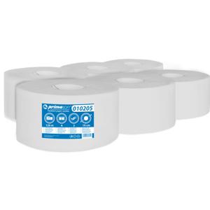 primaSOFT Toaletní papír PrimaSoft 190 2-vrstvý bílý 1 role