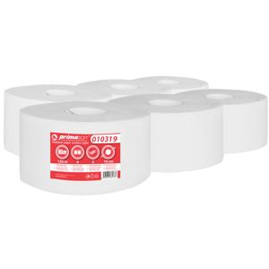 primaSOFT Toaletní papír PrimaSoft 190 2-vrstvý, 100% celulóza 1 role