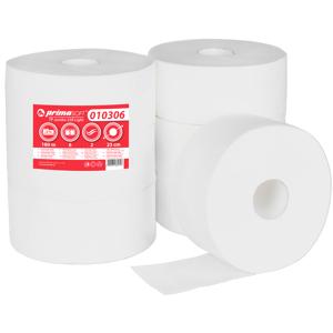 primaSOFT Toaletní papír PrimaSoft 230 2-vrstvý, 100% celulóza 1 role