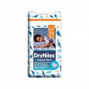 HUGGIES® DryNites plenkové kalhotky pro chlapce 3-5 let 10 ks