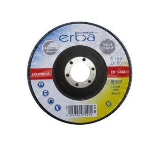 ERBA Brusný kotouč lamelový na ocel 125 mm ZK60
