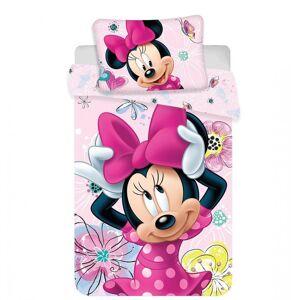 Jerry Fabrics Disney povlečení do postýlky Minnie Butterfly baby   dle fotky   Disney povlečení do postýlky Minnie Butterfly baby 100x135, 40x60 cm