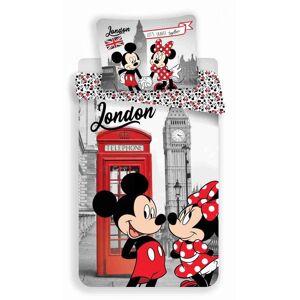 Jerry Fabrics Povlečení MM in London Telephone   dle fotky   Povlečení MM in London Telephone 140x200, 70x90 cm