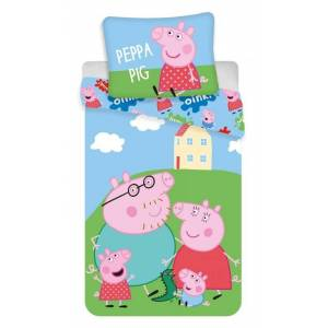 Jerry Fabrics Povlečení Peppa Pig 037   dle fotky   Povlečení Peppa Pig 037 140x200, 70x90 cm