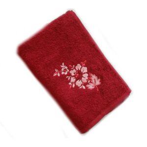 Praktik Bambusový ručník a osuška Paloma 500 g/m2   dle fotky   Bambusová osuška Paloma 70x140 cm bordó