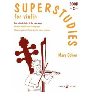 Superstudies Violin Book 2 by Mary Cohen