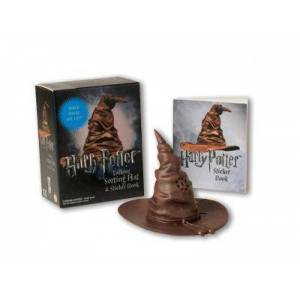 Harry Potter Talking Sorting Hat and Sticker Book by Running Press