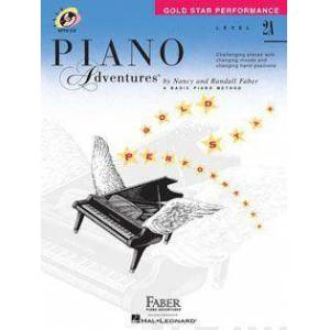 Level 2a - Gold Star Performance with Online Audio by Nancy Faber