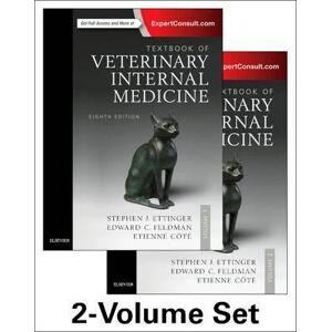 Textbook of Veterinary Internal Medicine Expert Consult by Stephen J. Ettinger