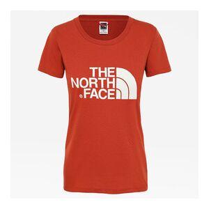 The North Face W s/s easy tee - eu   T0C256-BDN   Červená   L