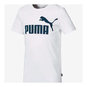 Puma ESS Logo Tee B Puma White-Surf the web   852542-62   Bílá   164