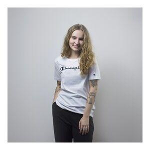 Champion Crewneck T-Shirt   112602-WW001   Bílá   S