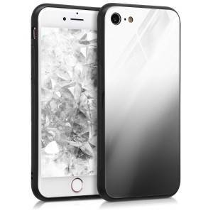 kwmobile Skleněné pouzdro pro Apple iPhone 7 / 8 - bílá