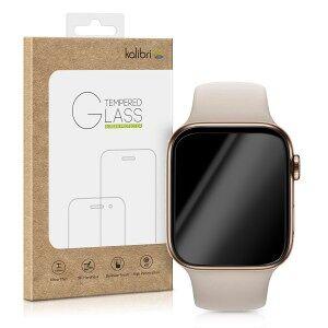 kalibri Tvrzené ochranné sklo pro Apple Watch 44mm (Series 4) - průhledná