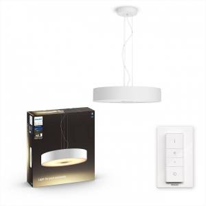 Philips Hue 40339/31/P6 LED závěsný lustr Fair 1x39W   2200-6500K - Bluetooth, s dálkovým ovladačem