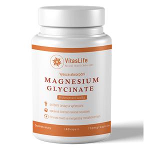 VitasLife Magnesium 700mg 180 kapsl'
