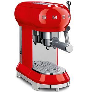 Smeg 50's Retro Style pákový kávovar na Espresso / Cappucino 15 barů 2 cup červený - SMEG