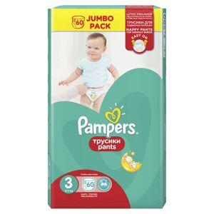 Pampers Pants Kalhotkové plenky vel. 3 6-11 kg Jumbo Pack 60 ks