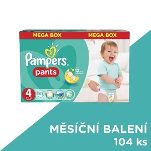 Pampers Pants vel. 4 Maxi plenkové kalhotky 104 ks