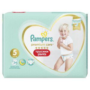 Pampers Premium Care vel. 5 kalhotkové plenky 34 ks