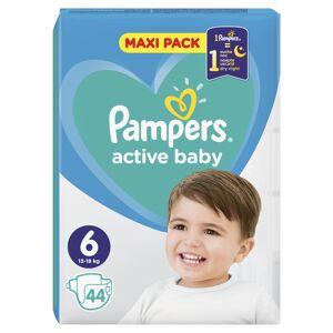 Pampers Active Baby vel. 6 Extra Large dětské pleny 44 ks