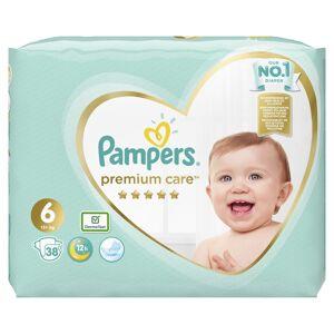 Pampers Premium Care vel. 6 dětské pleny 38 ks
