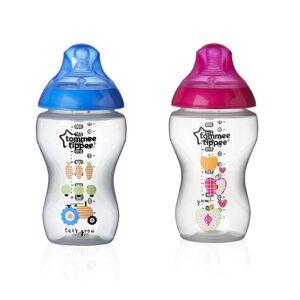 Tommee Tippee C2N 3m+ 340 ml kojenecká láhev s obrázky 2 ks