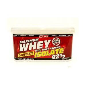 Not specified Xxlabs Maximum Whey Protein Isolate 92 čokoláda 2200 g