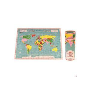 Puzzle mapa světa v tubusu