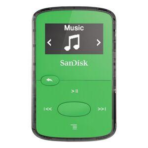 Sandisk mp3 sansa clip jam 8 gb jasně zelený