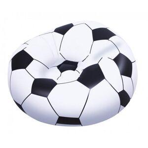 Bestway Nafukovací křeslo fotbalový míč, 1,14m x 1,12m x 66cm