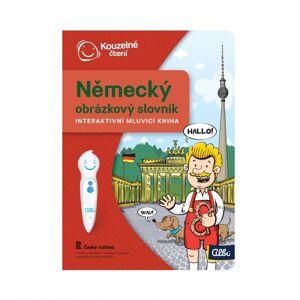 Albi kouzelné čtení - kniha německý obrázkový slovník