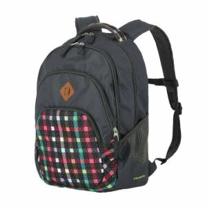 Travelite Argon Backpack Checked Pattern