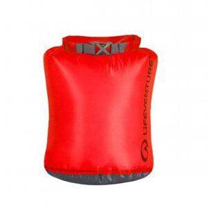 Lifeventure Ultralight Dry Bag 2 l Red